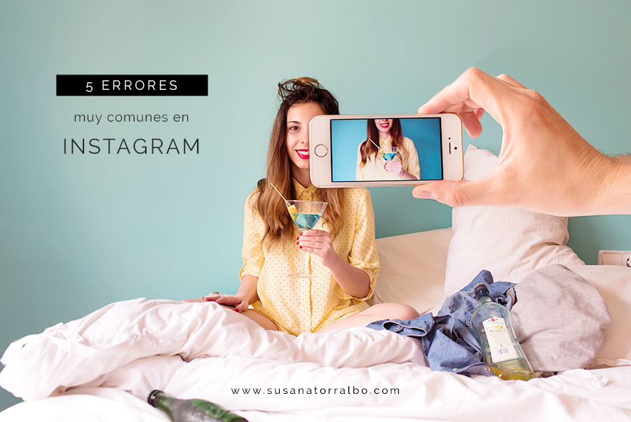 5 errores comunes en Instagram
